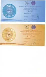 Certyfikaty z Litwy